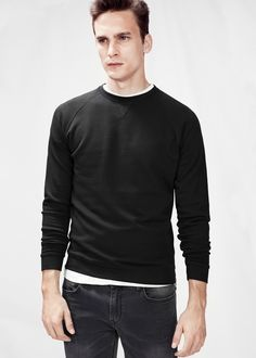 H.E. BY MANGO - Side zip sweatshirt #FW14 #MENSWEAR