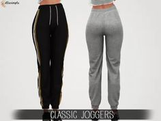 2f029f81928 Elliesimple - Classic Joggers - The Sims 4 Download - SimsDomination Sims  Free Play