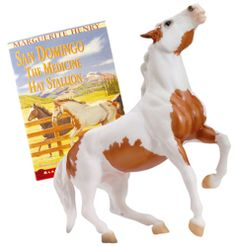 Breyer #1296 Marguerite Henry's San Domingo - Medicine Hat Stallion Model & Book this a book for those of you who want to learn about the pony express I personally didn't like this one