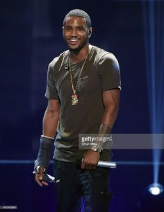 Recording artist Trey Songz performs at the 2015 iHeartRadio Music Festival at MGM Grand Garden Arena on September 19, 2015 in Las Vegas, Nevada.