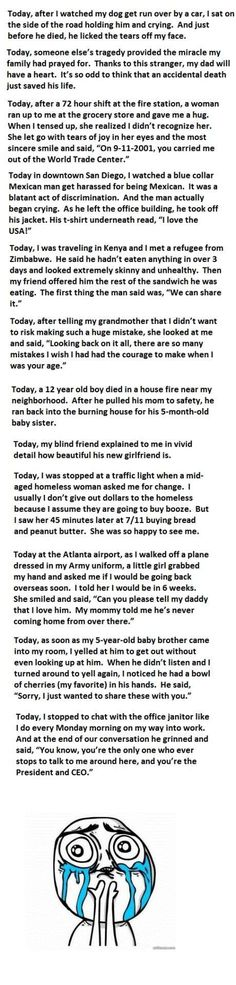 Worth the read, I promise.