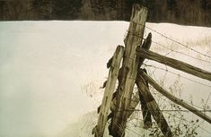 Robert Bateman - Guelph Line Fencepost (Ontario, Canada)