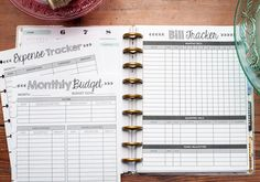 Home Finance Kit for the Happy Planner, Dave Ramsey, Total Money Makeover