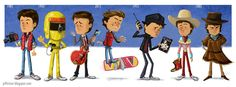 The Evolution of Marty McFly