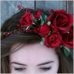 red rose crown - Google Search