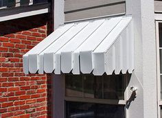Spring is in air and slowly stepping in. You should clean your aluminum awnings to give a clear picture of your house. Residential awning can give a stylish outlook to your house, can improve the arch Deck With Pergola, Pergola Shade, Modern Pergola, Pergola Swing, Pergola Ideas, Aluminum Window Awnings, Metal Awnings For Windows, Door Overhang, Shade House