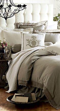 Lovely bedroom and headboard www.MadamPaloozaEmporium.com www.facebook.com/MadamPalooza