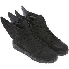 617629d4d134 Adidas Jeremy Scott Wings 2.0 Black Flag Shoes  jeremyscott  shoes  adidas