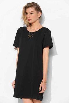 Silence + Noise Blanc T-Shirt Dress