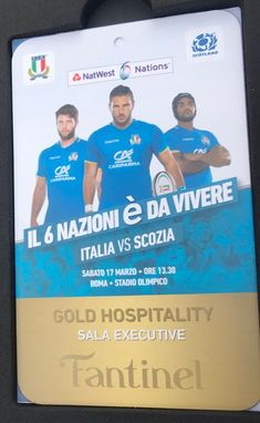 Forza #Azzurri! #Fantinel #rugby #6nations2018 #rome #italy #exclusive #partner #winelover #excellence