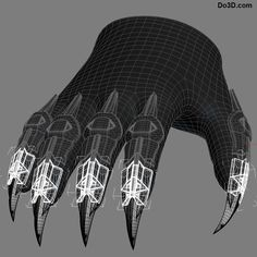 Wearable Avengers Infinity War Black Panther Mens Cos Paws Gloves Forearm Decors