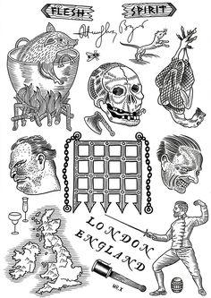 #old school #flash #tattoo
