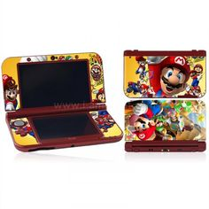 Skin New 3DS XL/ LL - Mario Bros 02 Mario Bros, New 3ds, Pinball, Arcade Games, Sticker, Decals, Decal, Stickers