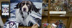 Pixelist oil paintings from instagram photos