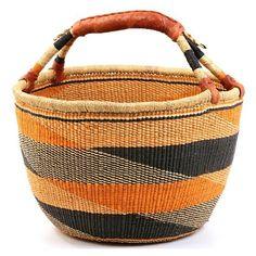 "Ghana Bolga Baskets - Market Basket 15"" Across21608 found on Polyvore"