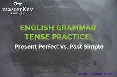 #GRAMMAR, TENSE PRACTICE - Present Perfect vs Past Simple. #inglés #english #teaching #learnenglish #gramática #HappyFriday. ow.ly/IcZ5301B07G