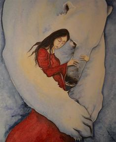 Image result for girl and polar bear book