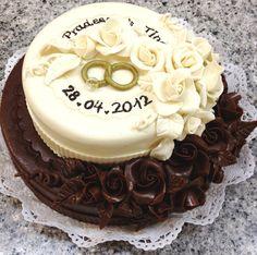 Schokoladen Hochzeitstorte | Chocolate Wedding Cake