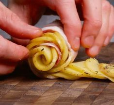 How To Cook Potato Roses