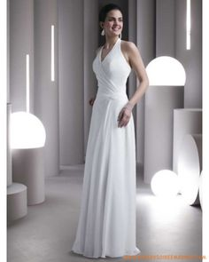 Robe de mariée pas chère à Paris en satin élastique  robe de ...