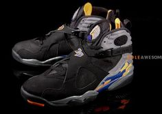 eb3a6b430ebb THE SNEAKER ADDICT  Air Jordan Retro 8 Black Bright Citrus