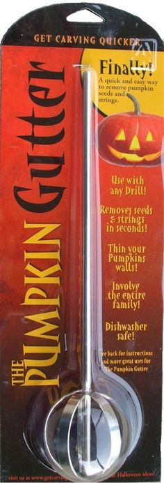 Dakota Products PG001 Pumpkin Gutter & Carving Tool