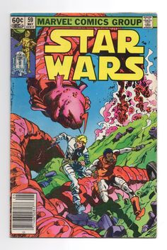 "Marvel Star Wars Comic #59 ""Bazarre"" - 1980 Star Wars by ThisCharmingManCave on Etsy  https://www.etsy.com/listing/502935085/marvel-star-wars-comic-59-bazarre-1980"