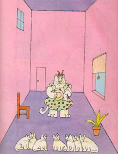 my vintage book collection (in blog form).: In the shop.... Sam Sunday and the Strange Disappearance of Chester Cats - illustrated by Robert Tallon