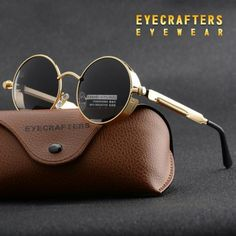 Cheap fashion shades, Buy Quality steampunk sunglasses men directly from China polarized sunglasses Suppliers: Gold Metal Polarized Sunglasses Gothic Steampunk Sunglasses Mens Womens Fashion Retro Vintage Shield Eyewear Shades 372 Red Sunglasses Shop, Retro Sunglasses, Polarized Sunglasses, Sunglasses Accessories, Luxury Sunglasses, Accessories Online, Sunglasses Online, Round Sunglasses, Fashion Accessories