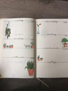 Bullet journal week/Woche