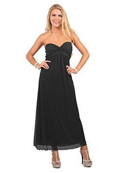 Womens Formal Cocktail Chiffon Sweetheart Strapless Empire Waist Party Dress ** Check out this great product.