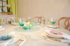 Jolene Smith Dining Room Table Setting