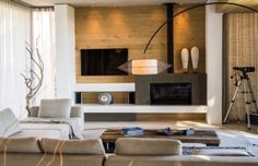 Wohnzimmer Ohne Wohnwand U2013 Ideen Und Alternativen Zur Schrankwand #modern  #ohnefernsehteil #fernsehteilwohnzimmer #