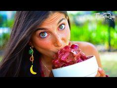 FullyRaw Cherry Chocolate Ice Cream! - YouTube