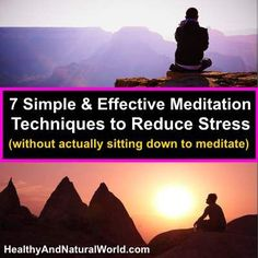 techniques to reduce stress