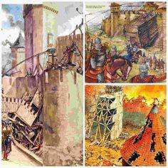 Sun Tzu, Medieval, Castle, Painting, Digital, Art, War, Modern History, World History