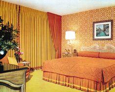 The Giki Tiki Bedroom Wall, Bedroom Decor, Bedroom Ideas, 1970s House, 1970s Decor, Retro Bedrooms, Retro Design, New Room, Interior Design