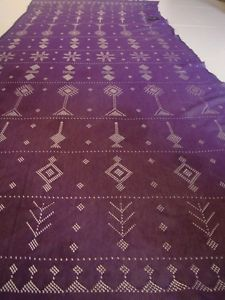 Authentic Egyptian Handmade Purple Tulle Assuit Shawl Belly Dance Tribal Scarf   eBay