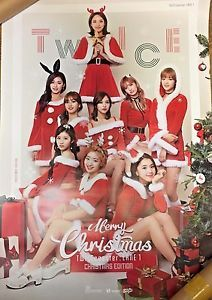 TWICE Poster NO Folded Official Christmas Edition 3rd Album TWICEcoaster LANE1_1  | eBay