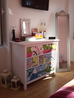 DIY: colourful revamp of the classic Ikea Hemnes chest of drawers