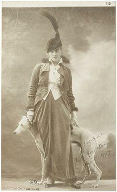 Jacqueline Forzane, 1913.
