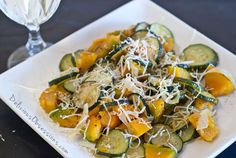 Sautéed Zucchini, Squash, and Onions (gluten free with a dairy free option, autoimmune option) Whole 30 Recipes, Raw Food Recipes, Vegetable Recipes, Cooking Recipes, Healthy Recipes, Paleo Food, Paleo Side Dishes, Side Dishes Easy, Squash And Onion Recipe