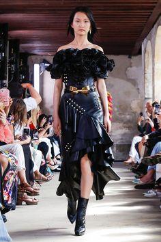 Rodarte, Spring 2018 - The Most Beautiful Runway Gowns at Paris Fashion Week - Photos