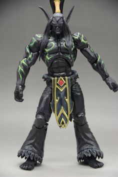 22.30$  Watch now - http://alix85.shopchina.info/1/go.php?t=32598216601 - New Arrival WOW Illidan Stormrage Heroes Of The Storm 18cm PVC Action Figure Collection Toy Doll  #shopstyle
