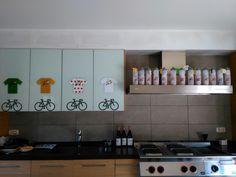 Tour de France party Kitchen Cabinets, Parties, Home Decor, Home, Fiestas, Decoration Home, Room Decor, Cabinets, Party