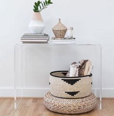 15 DIY pour une décoration ethnique/ Customisez une corbeille en corde / DIY ethnic