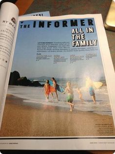 Family Travel. Great site with info on various destinations, States and Abroad. How to travel with kids of all ages, where to travel, ideas of restaurants and atractions