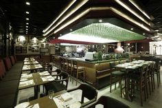 Grappa's Ristorante bar and restaurant by 4N design architects, Shanghai – China