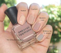 Nail The Beauty Look Book Deborah Lippmann Modern Love Art Designs