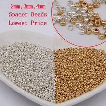 Lot Métal Antique Gold Loose Spacer Beads Jewelry Findings À faire soi-même de nombreuses formes Taille